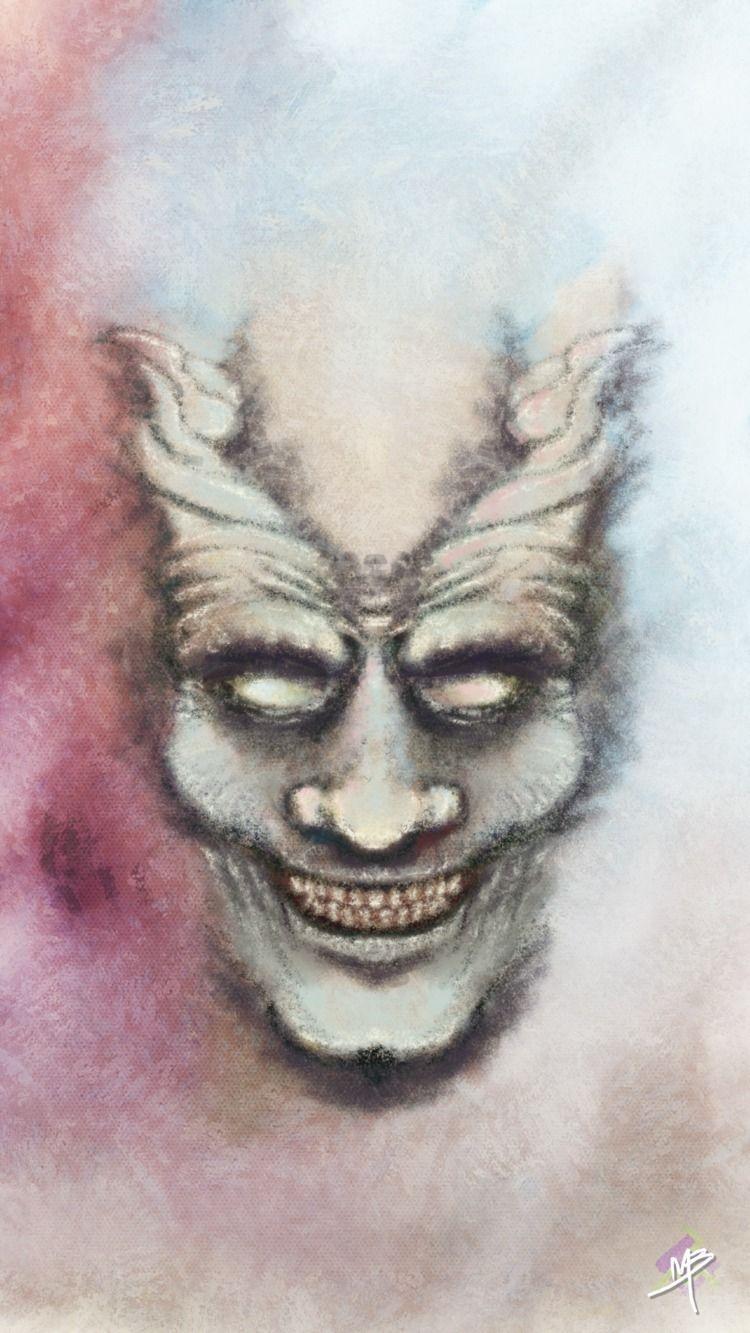 Gargoyle started random sketch  - matheusbarrosarts   ello
