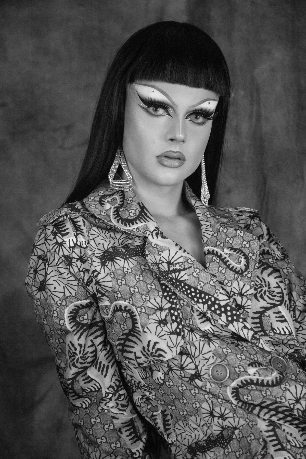 Gothy Kendoll DragRaceUK Gucci  - hausmagazine | ello