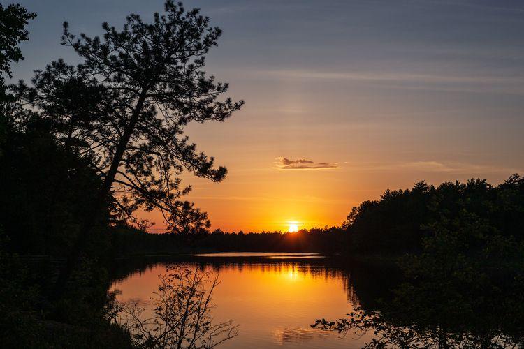 Tahquamenon River Sunset - terryhumphrey | ello
