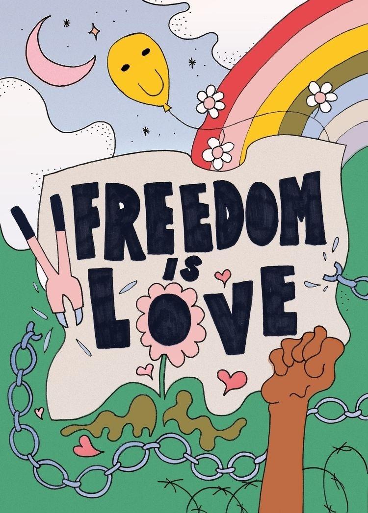 wanted celebrate joy fun freedo - keirafinnegan | ello