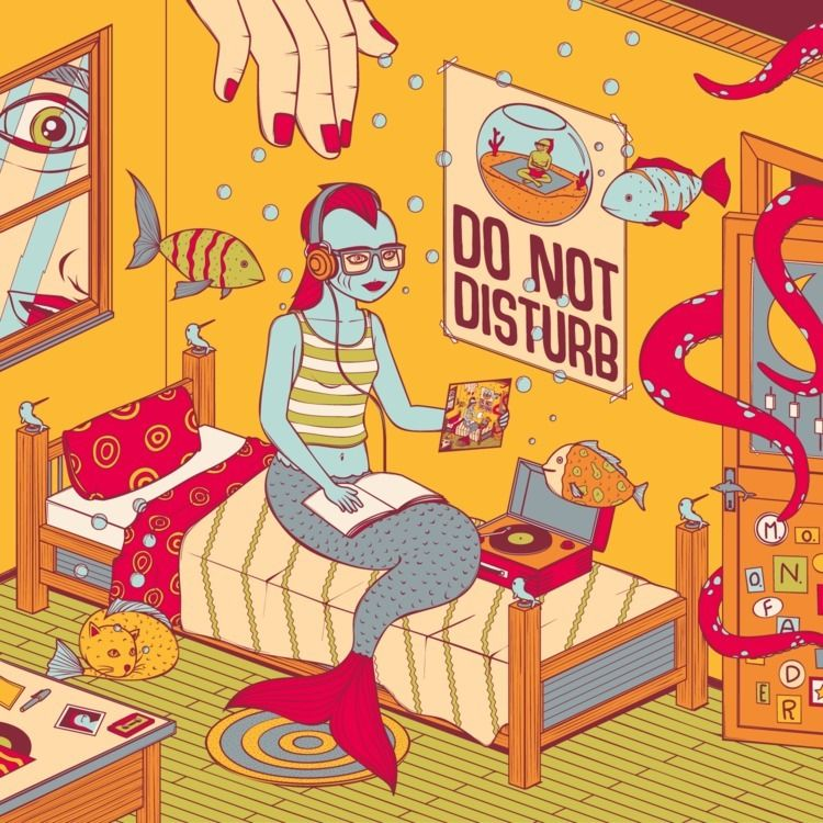 illustration Disturb - Fader - andreamoresco | ello