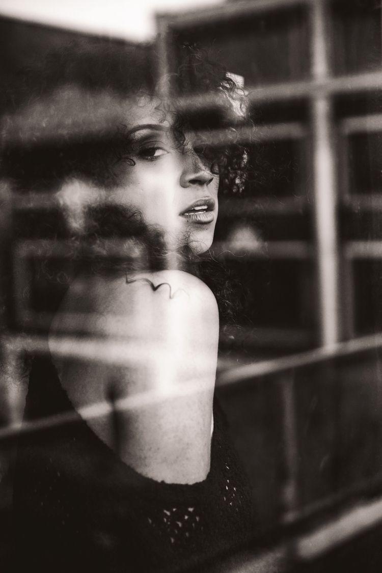 woman window- . Model: Instagra - jm_photography23   ello
