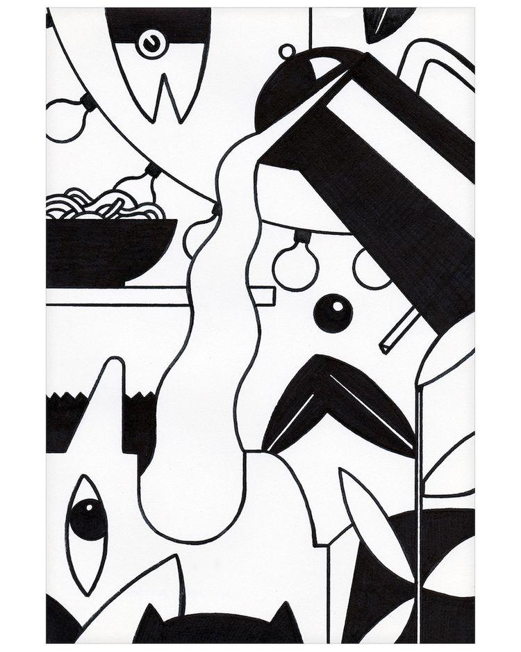 Gimme Coffee - illustration, characterdesign - jorenpeters   ello