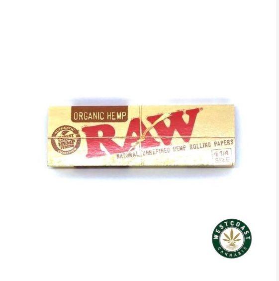 Raw Hemp Organic Rolling Paper  - westcoastcannabisonline | ello