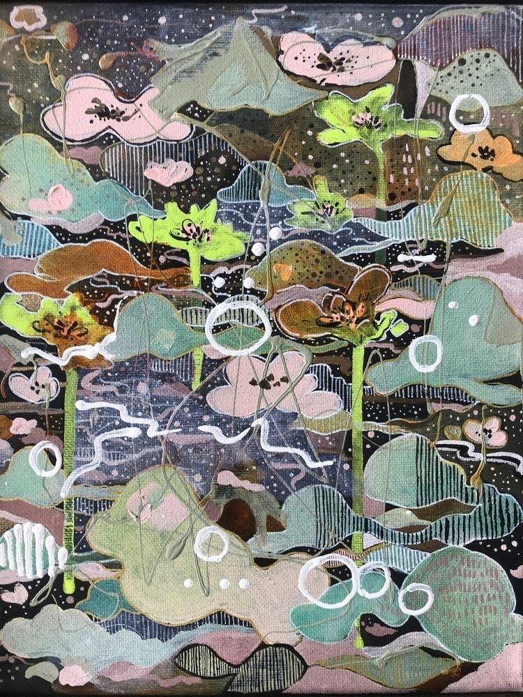 elloart, artwork, painting, abstractpainting - melodypoonart   ello