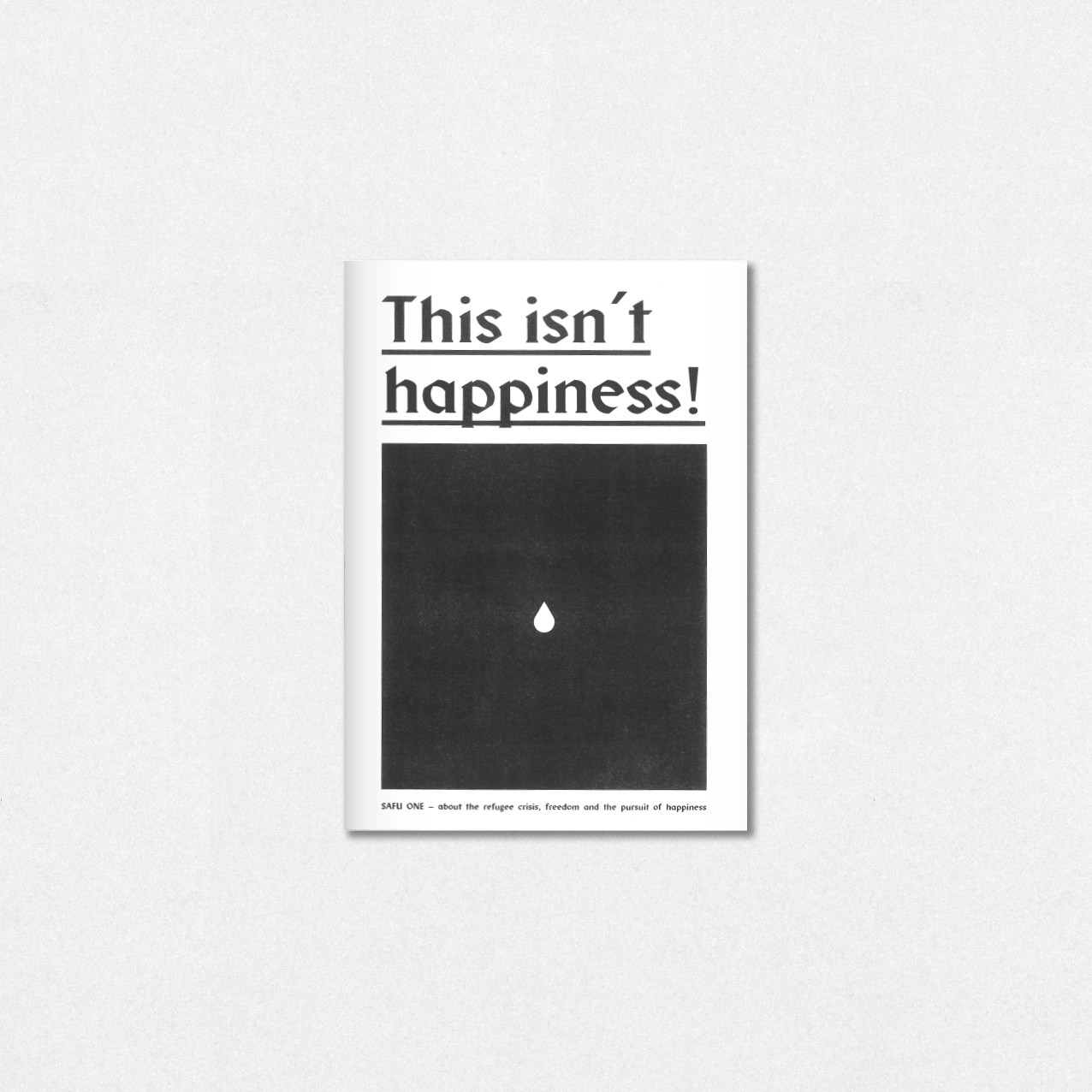 HAPPINESS - illustrated zine re - safu_one | ello