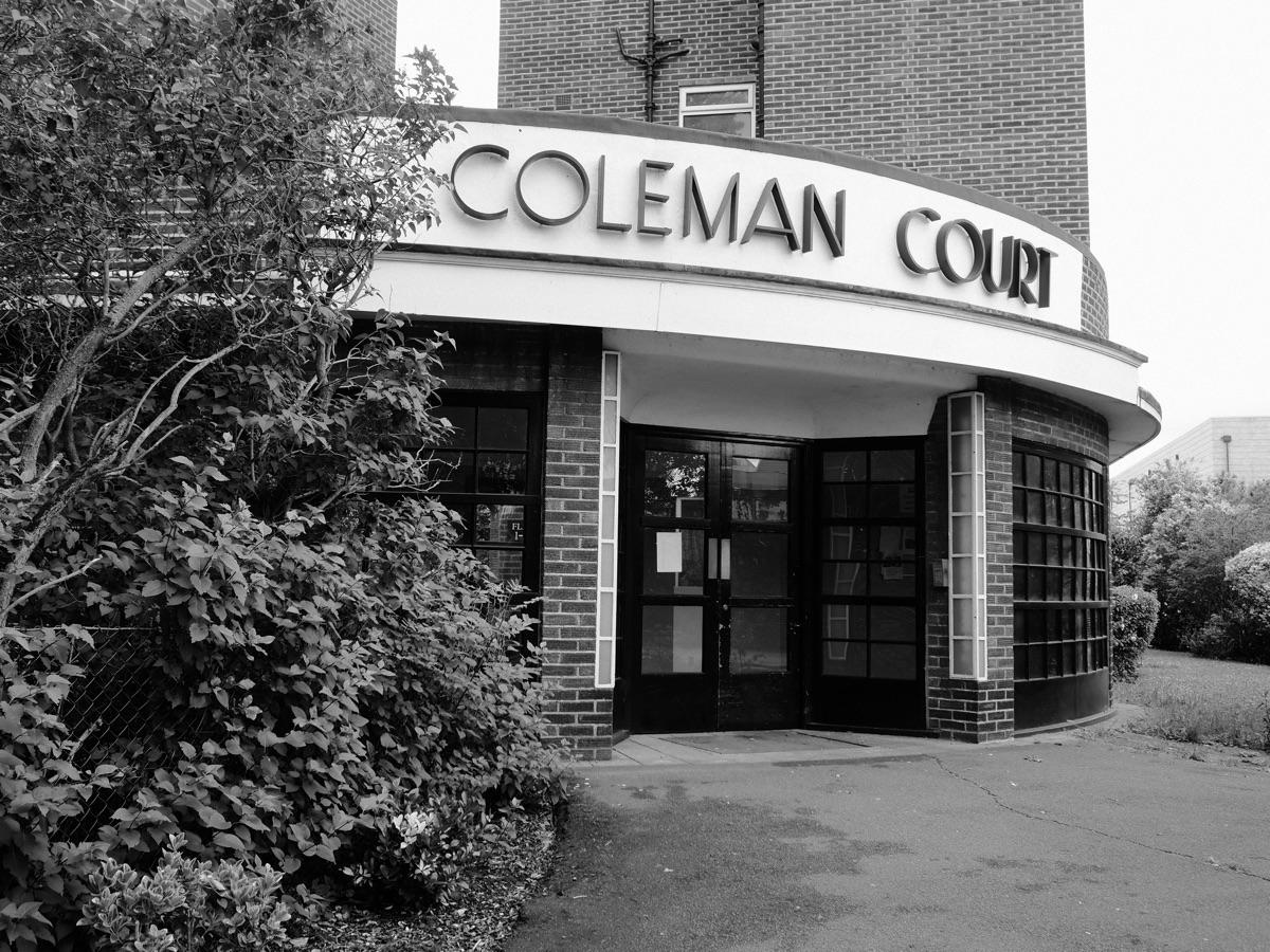 Coleman Court iconic Art Deco a - skazman | ello