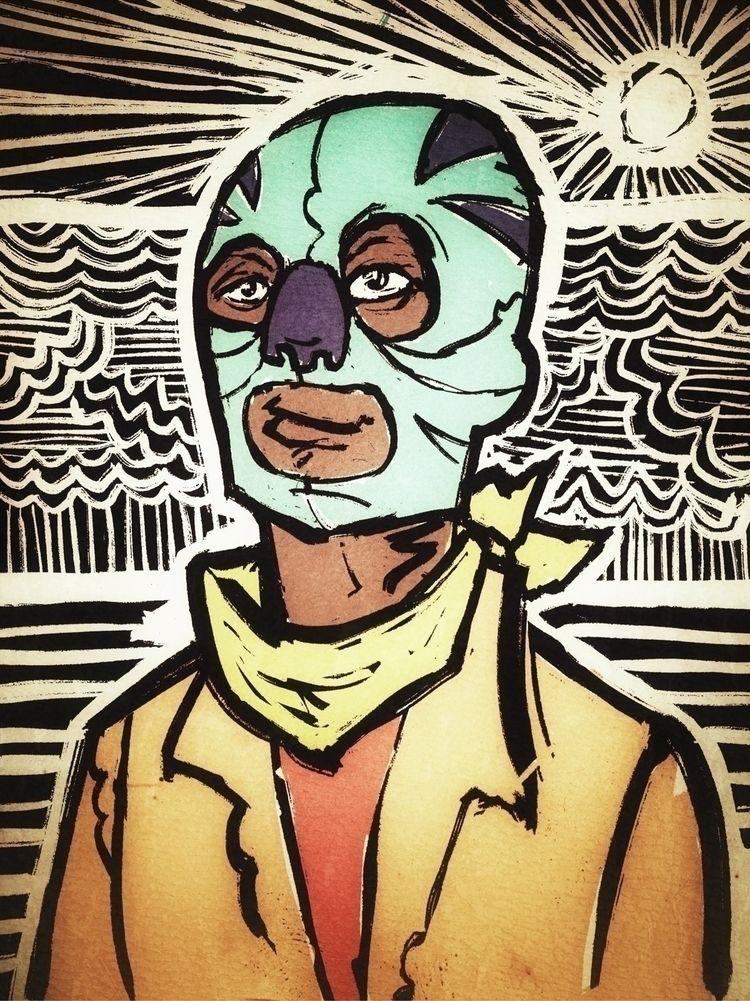 Double Masked Hopeful, 2020 - whateveryouart | ello