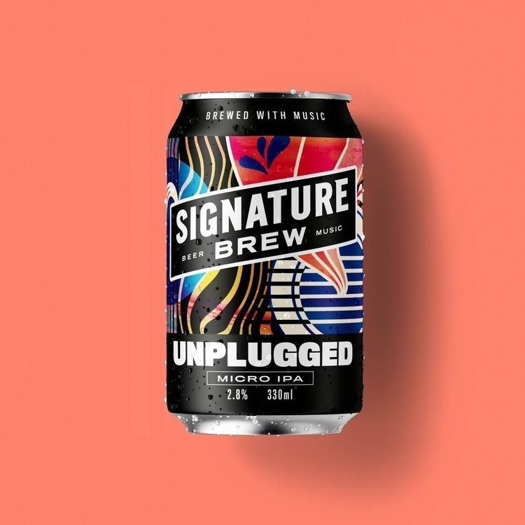 beer label design Signature Bre - beechinternational | ello