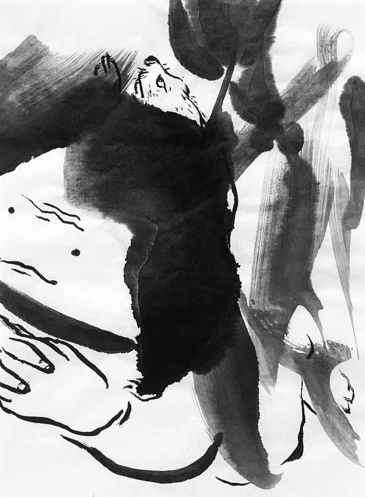art, ink, sketch, fun, random - mlui | ello