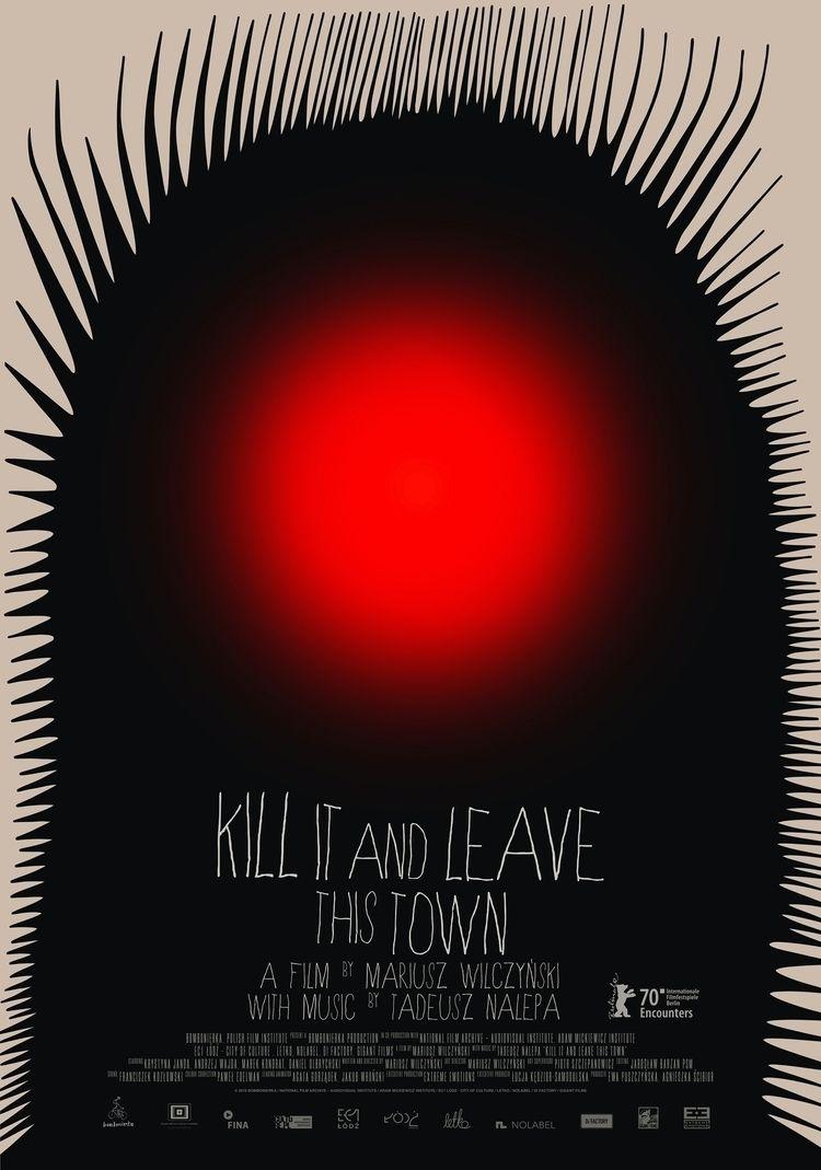 Kill Leave Town Movie poster - POSTER - kuki_krzysztof_iwanski | ello