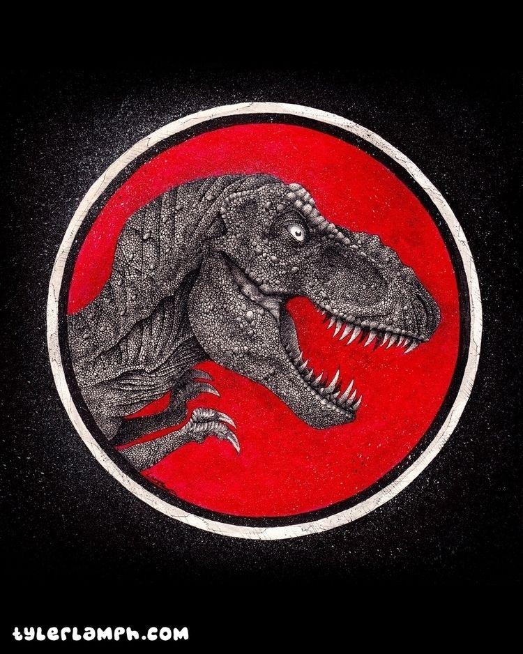 Jurassic Park logo fleshed - tlamph | ello