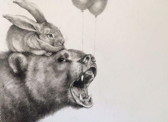 Amazing drawings Adonna Khare B - nettculture | ello