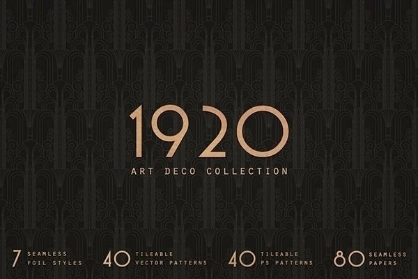 1920 Art Deco Collection Paper  - chrisb-marquez | ello