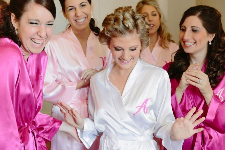 Monogramming bridesmaid robes i - weddingprepgals | ello