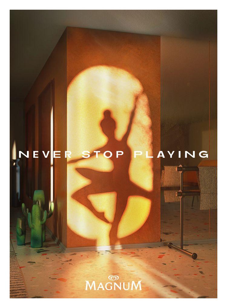 Magnum - Stop Playing // Print  - kaaniscan | ello