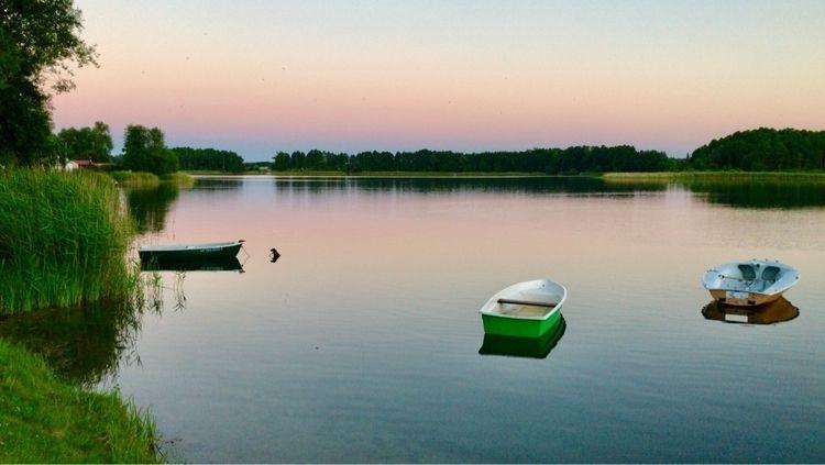 Boats Powidz Lake - powidz, boats - blueskipper | ello