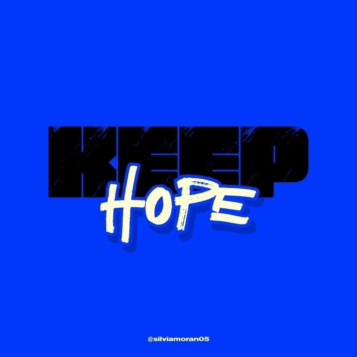 time hope - quarantine, stayhome - silviamoran05 | ello