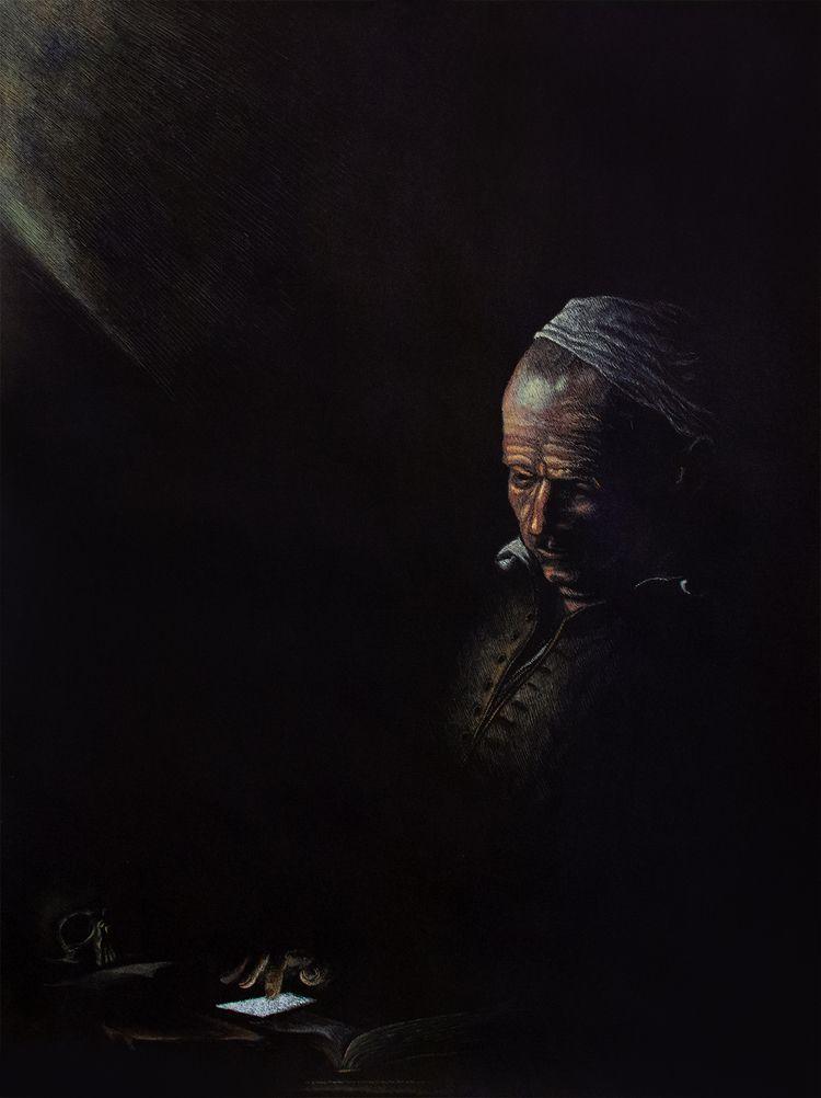 Vanitas Ink paper 60x80 cm - klemt | ello