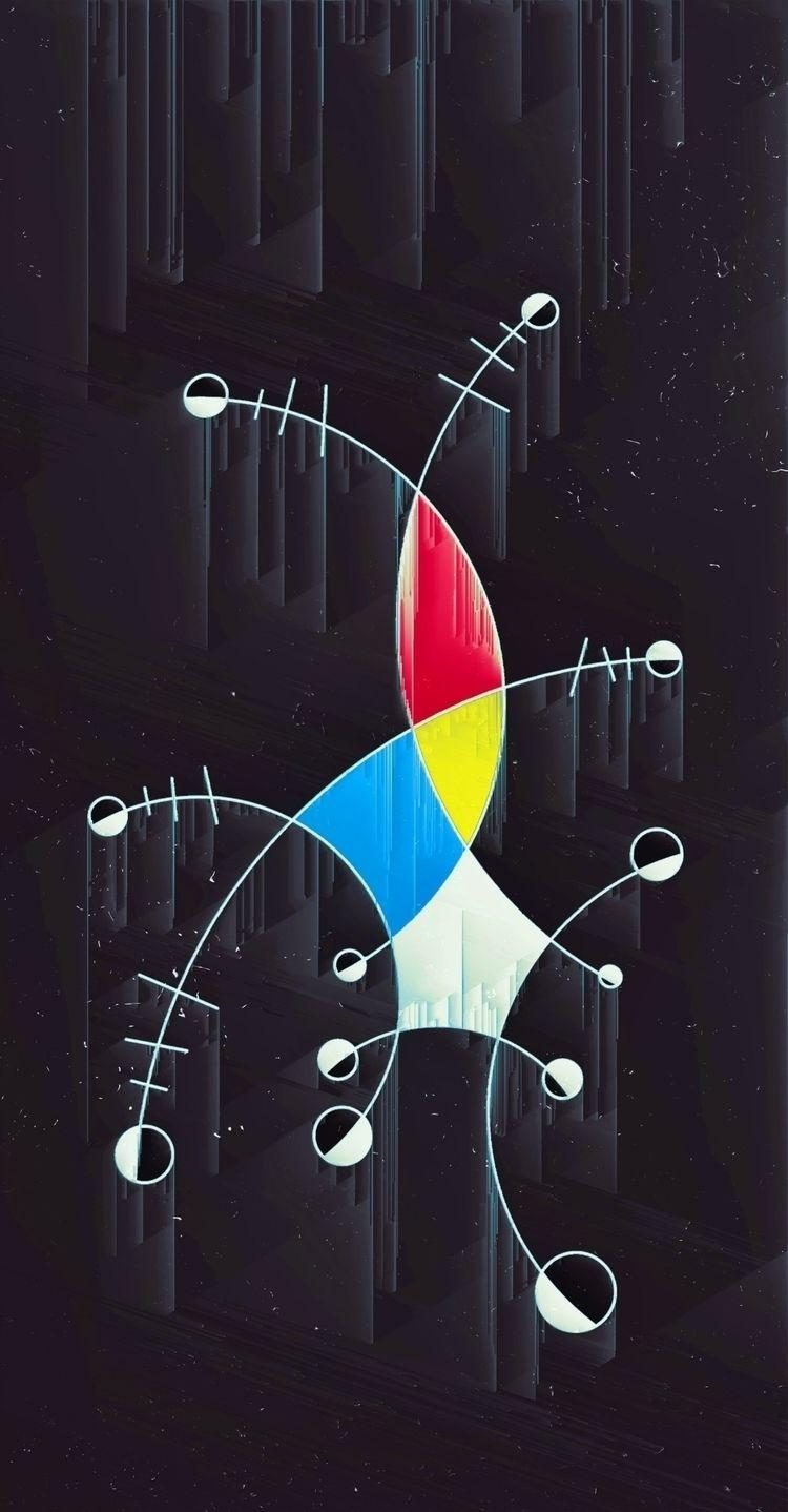 art, abstract, abstractart, abstraction - phil_clark | ello