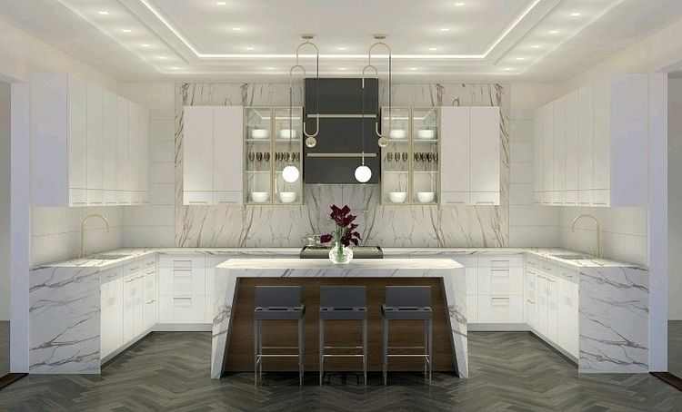 completed kitchen - kitchendesigner | ello
