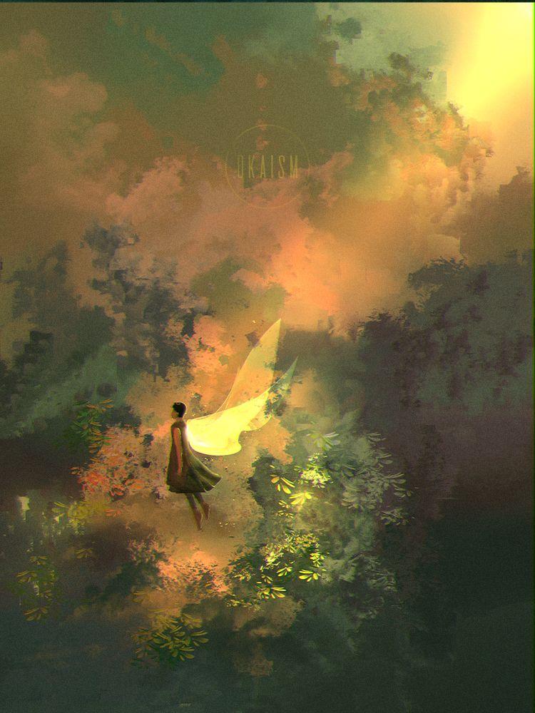 garden spirits heal - nature, healing - dkaism | ello