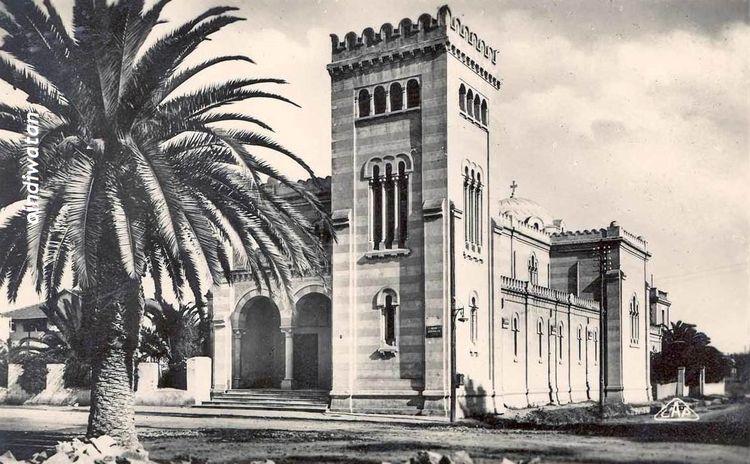 1918 (Tunisie) - Tunis_eglise_j - oindiwatan | ello