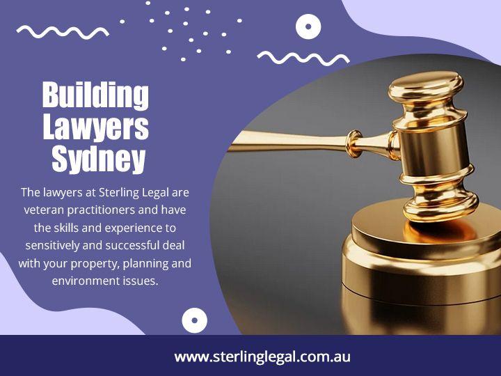 Building Lawyers Sydney Hire bu - sterlinglegal | ello