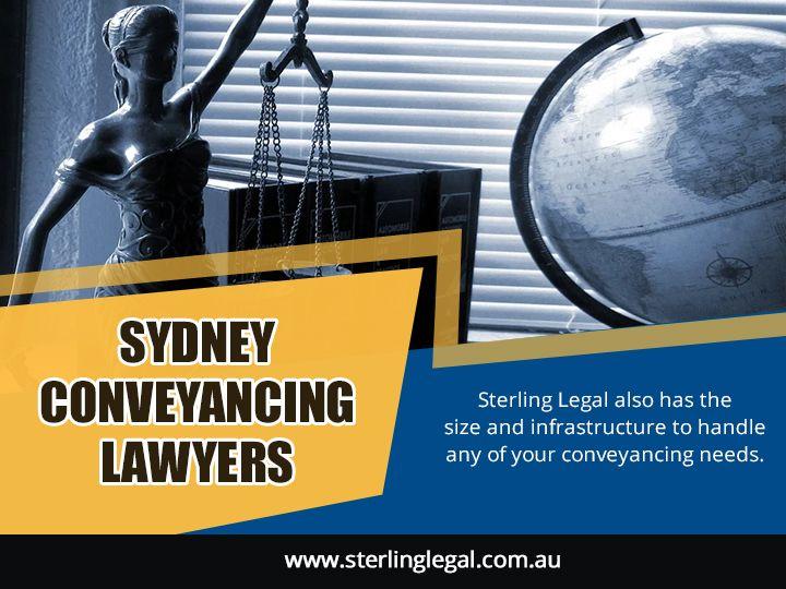 Sydney Conveyancing Lawyers con - sterlinglegal | ello