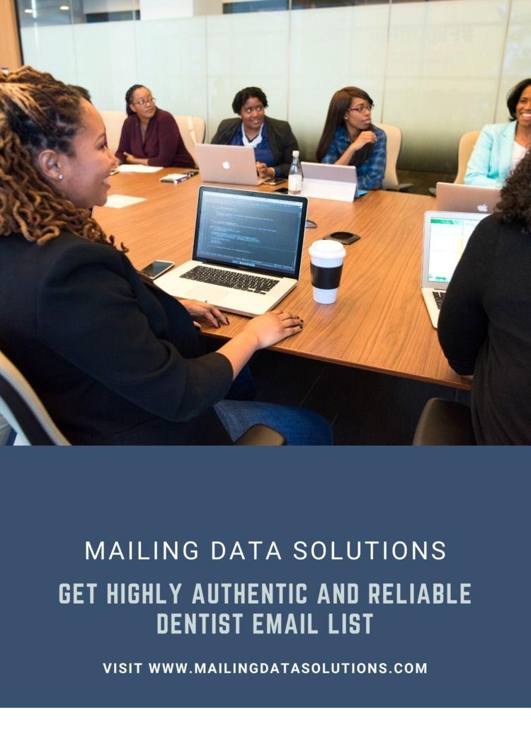 Dentist Email List Mailing Data - mailigndatasolution   ello