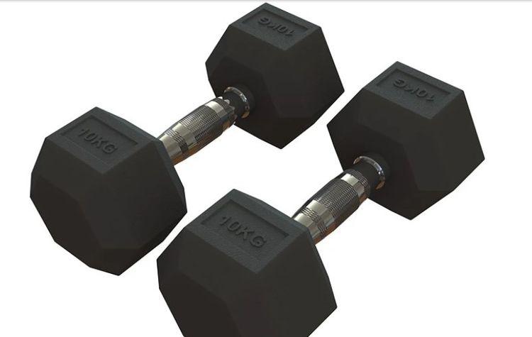 muscles strong? Buy 10kg dumbbe - rawfitnessequipment | ello