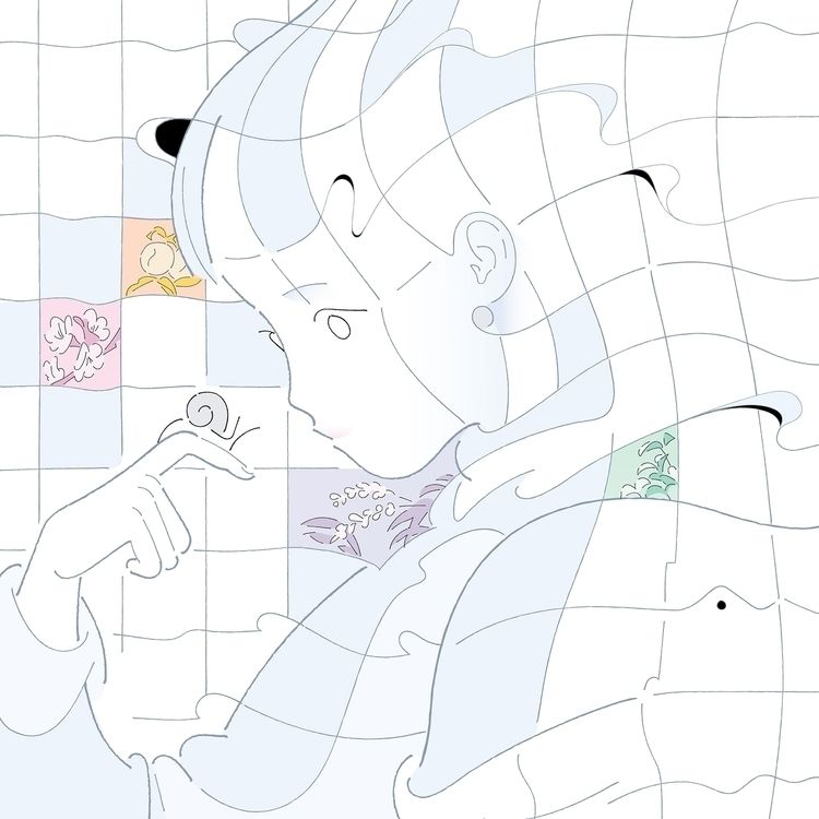 Netizen deskmat illustration 20 - genniieeee   ello