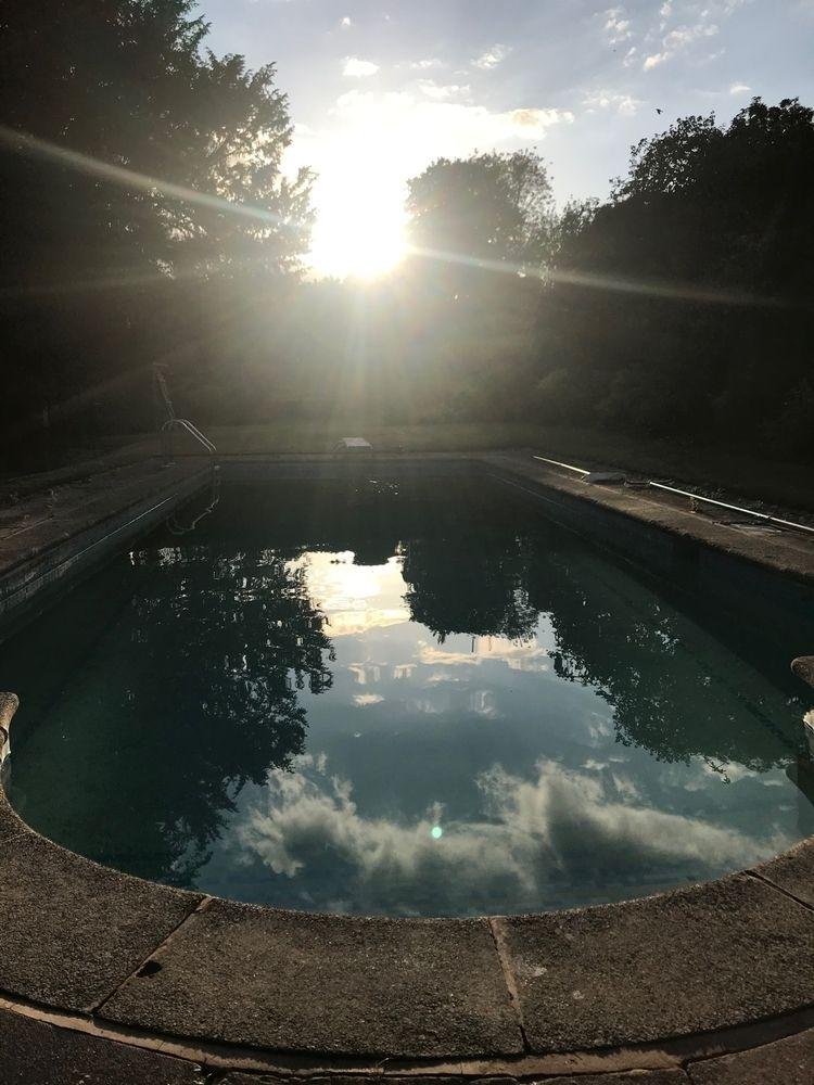 shallow - summer, pool, life, wtf - flatsquirrel | ello