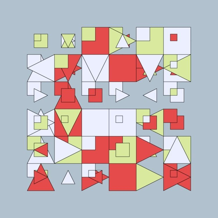 Geometric Shapes / 200722 - sasj   ello