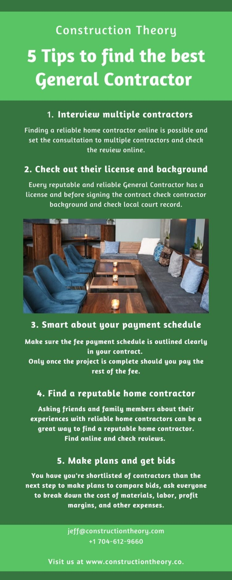 5 Tips find General Contractor  - constructiontheoryus | ello