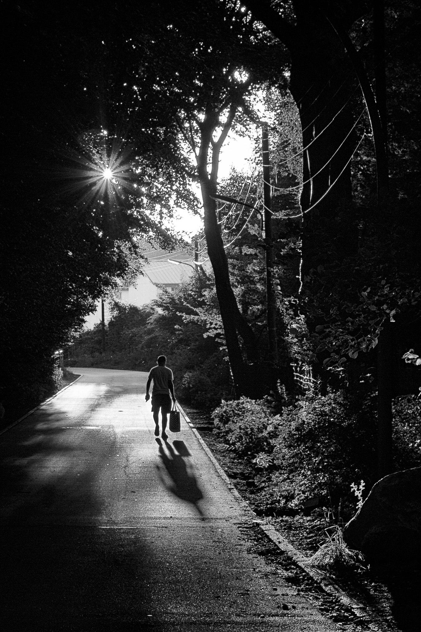 Sun (BW - photography, ellophotography - gkowallek | ello