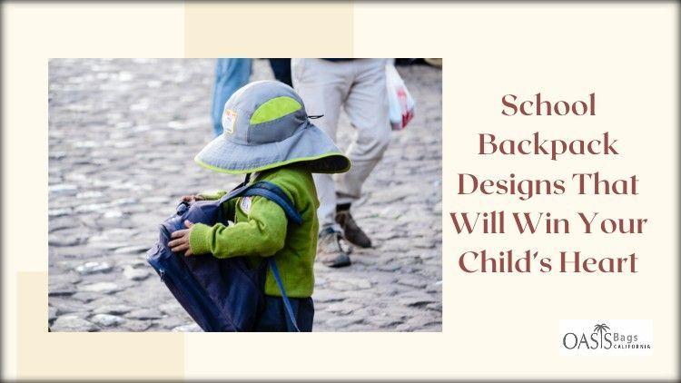 School Backpack Designs Win Hea - himariasmith | ello