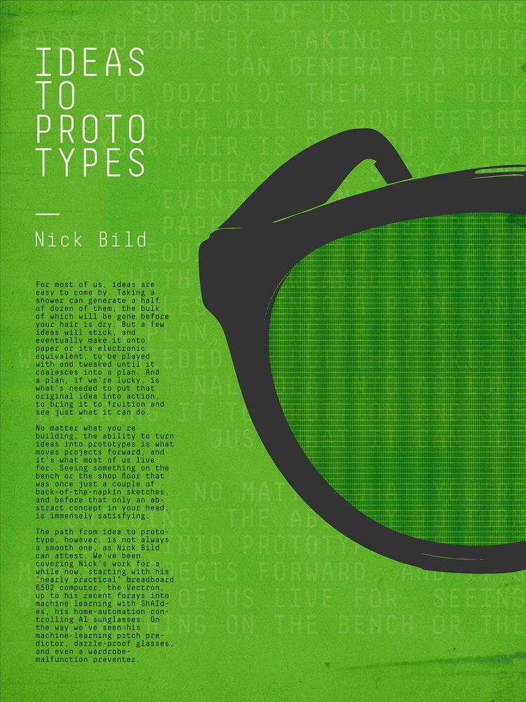Ideas Prototypes HackChat - poster - randomwalks | ello