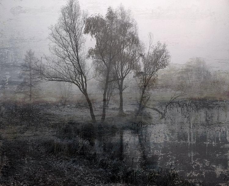 evening fog / expressionist lan - voiceofsf | ello