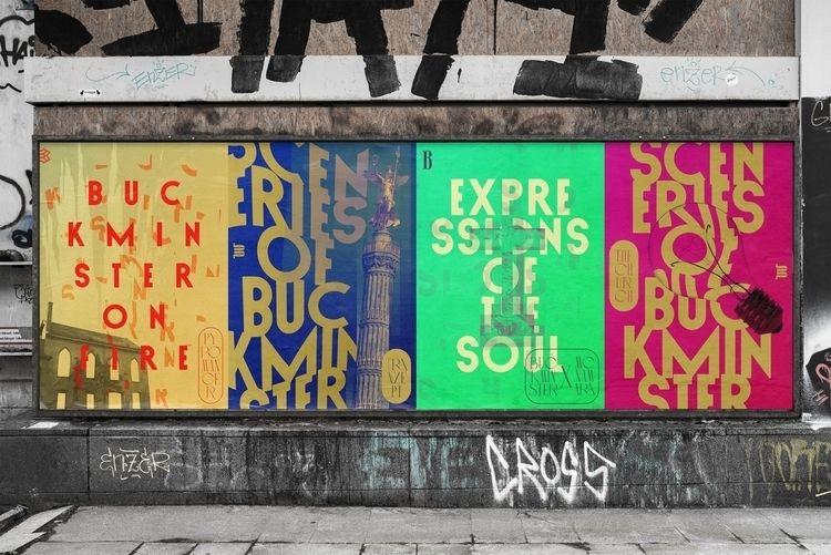 Buckminster artists - poster - shutupandance   ello