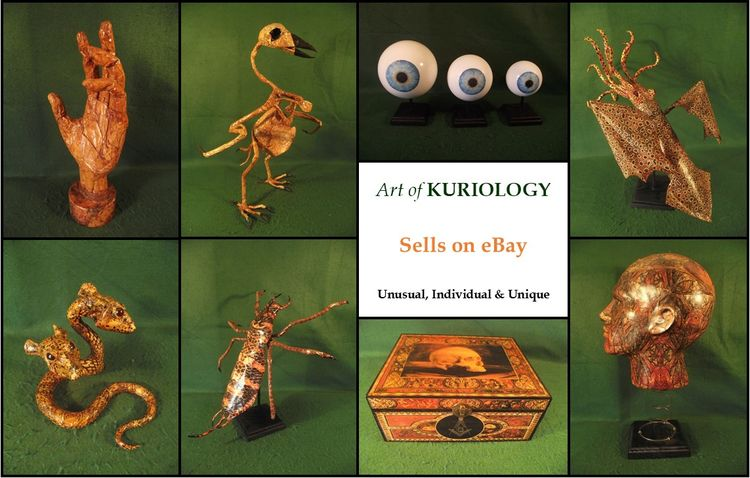 'Art Kuriology' - eBay Auction  - kuriology | ello