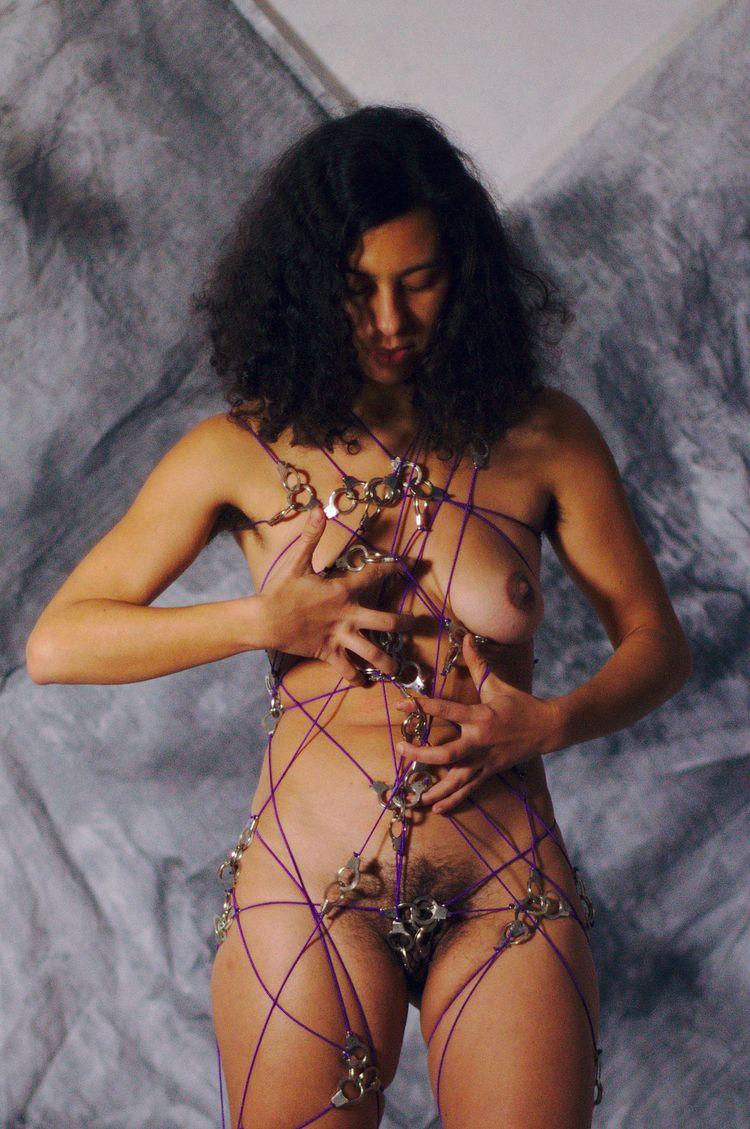 Handcuffs-dress purple 06969 - art - frango_artist | ello