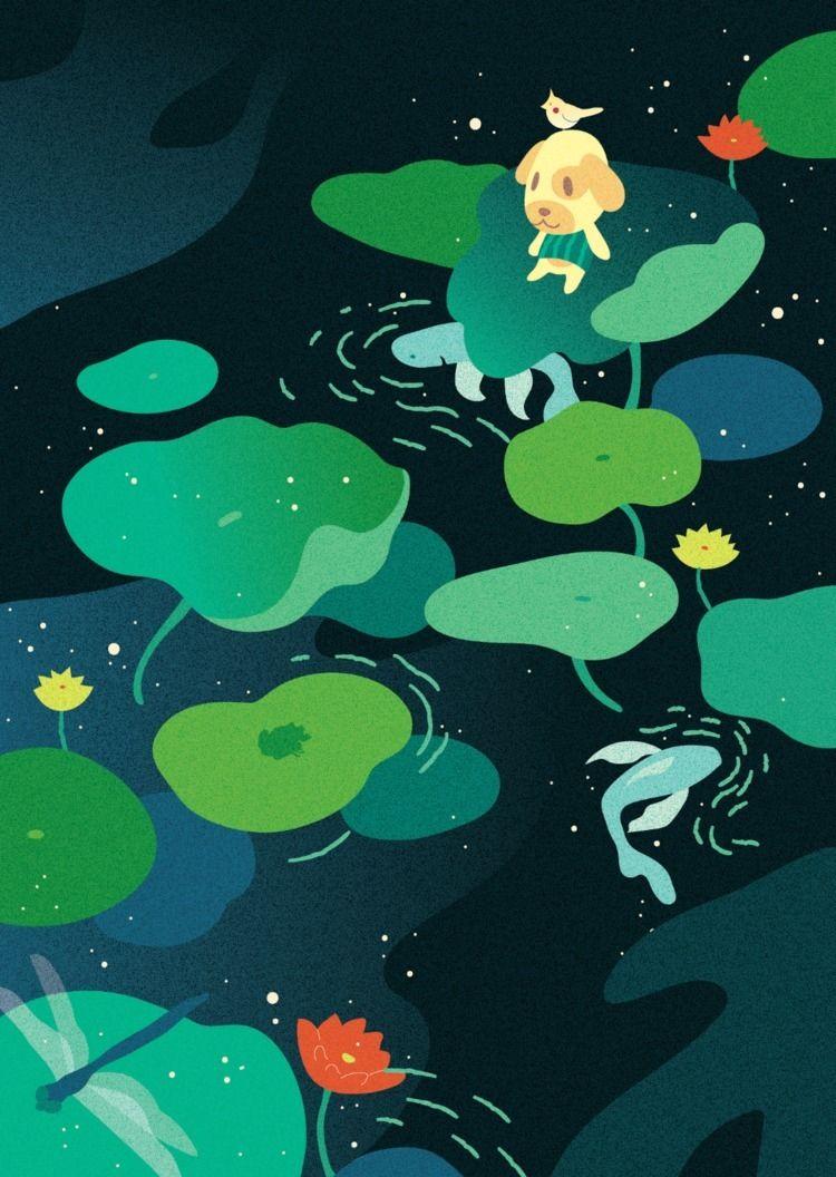 Someplace peaceful 🦜:frog::tuli - yushinkato | ello