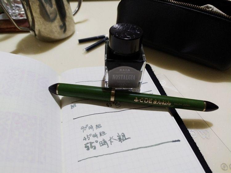 SAILOR 55度書法鋼筆 Fan group: Youtu - ariel_jhong | ello