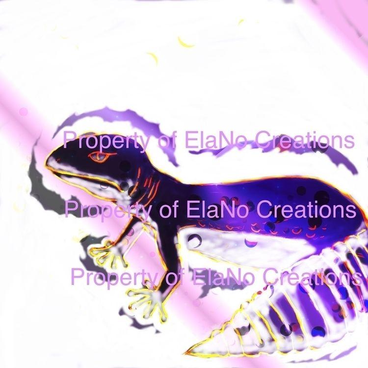 Leopard geckos amused lol - ellnocreations | ello