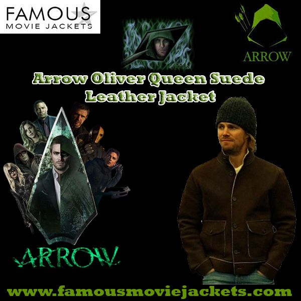 Arrow Oliver Queen Suede Leathe - riscillalauryn91 | ello