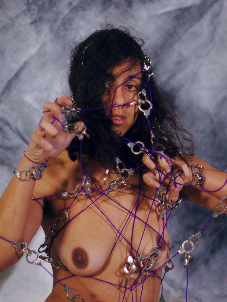 Handcuffs-dress purple 07804 - art - frango_artist   ello