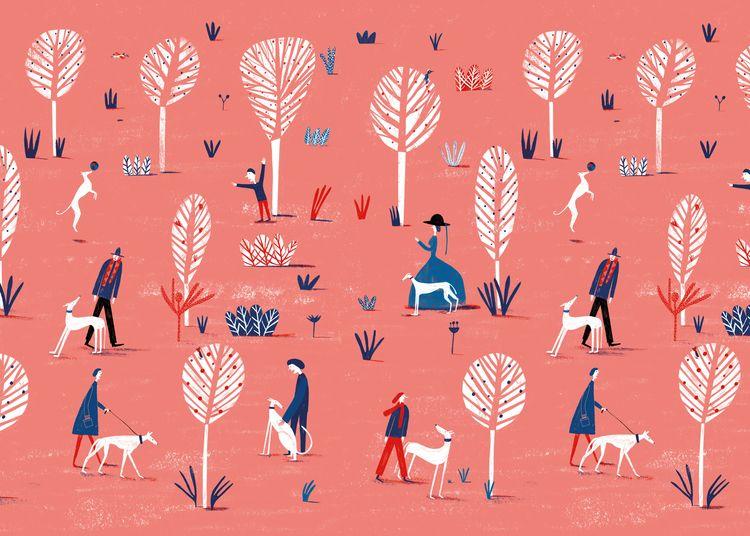Pattern Illustration - Sacoor B - marianario | ello