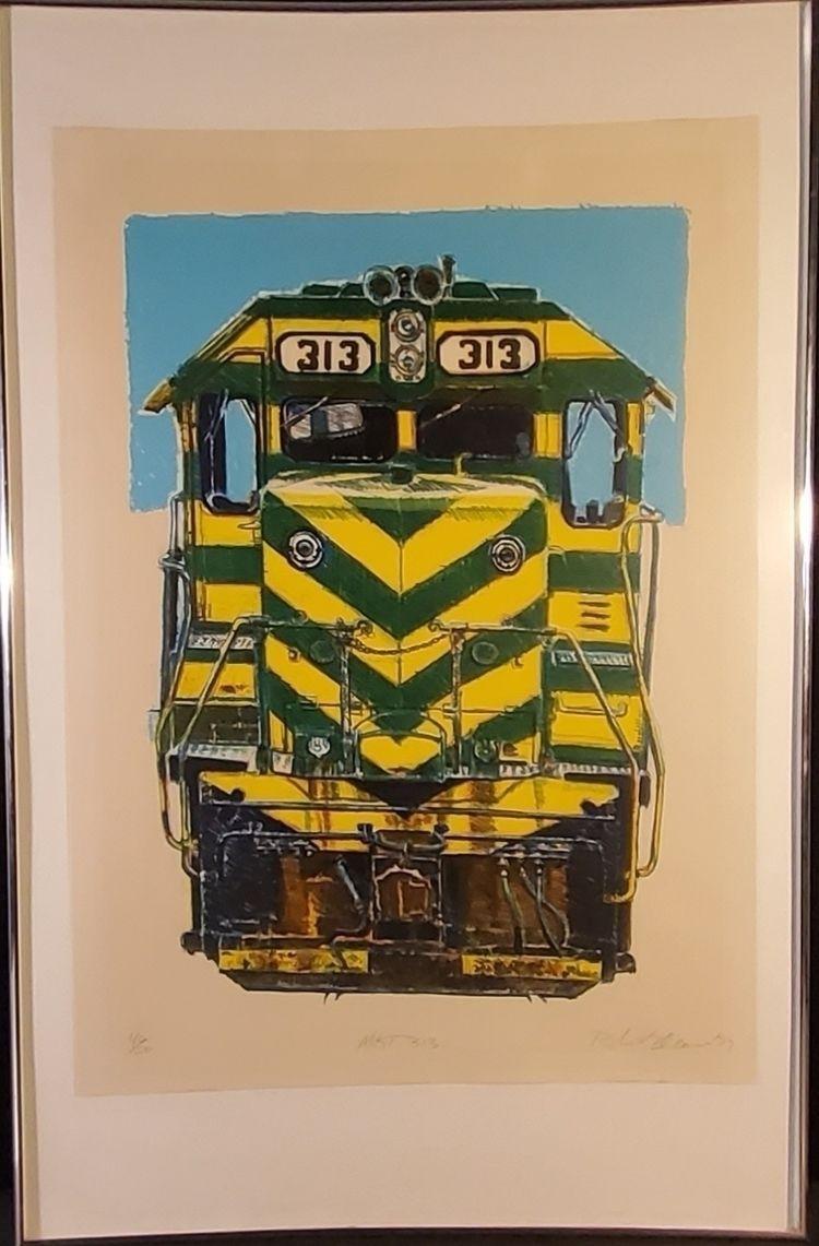 Robert Weaver - Locamotive 313  - metrogallery | ello