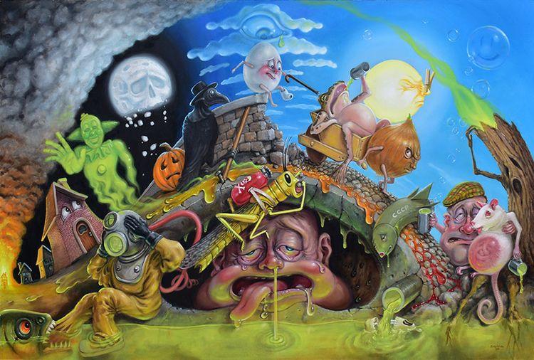Days Plague — Stephen Gibb, 36x - sgibb | ello